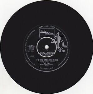 "Four Tops – It's The Same Old Song TAMLA MOTOWN TMG 528  7"" VINYL 45 1968"