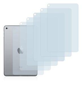 Apple iPad Mini 4 (Back), 6 x Transparent ULTRA Clear Screen Protector