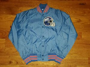 NWOT VTG Chalk Line Youth NEW YORK GIANTS Jacket Sz 14/16 Made In USA Embroiderd
