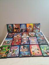 Disney DVD Joblot x 20 Animated Classics Frozen Dumbo Lion King Little Mermaid