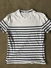 Jean Paul Gaultier x Target Australia men's T-shirt size M white blue stripes