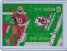2017 PANINI UNPARALLELED JEHU CHESSON ROOKIE RC SWIRL CARD #292 ~ 001/499 UNIQUE