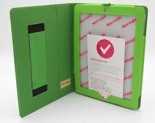 iPad 3 iPad 4 PU Hülle Smart Case Tablethülle Lederhülle Schutzhülle Grün-NEU