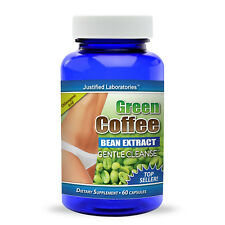 Pure Green Coffee Bean Extract Cleanse 800 mg Diet Weight Loss Detox 60 Capsules