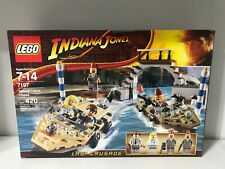 Lego Indiana Jones Last Crusade Venice Canal Chase (7197) NISB Excellent Retired