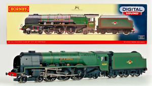 HORNBY 00 GAUGE - R2782XS - BR 4-6-2 DUCHESS 'CITY OF SHEFFIELD' DCC SOUND BOXED