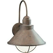 "KICHLER NEW 9023 OB Old Brick OUTDOOR 1-LIGHT Wall Fixture SEASIDE 10.5""W x14.5"""