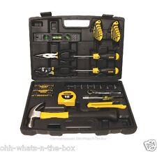 Tool Set Stanley Hardware Toolbox Kit Handyman Case Hammer Screwdriver 65 Pcs