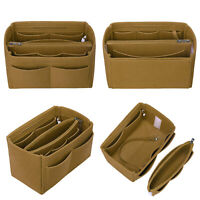 Organizer Handbag Felt Travel Bag Insert Liner Purse Pouch For LV Speedy 30 Medi