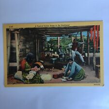 A Typical Indian Home in the Southwest Unposted Postcard