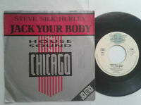 "Steve Silk Hurley / Jack Your Body 7"" Vinyl Single mit Schutzhülle"