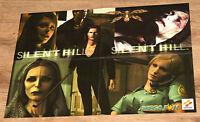 Silent Hill Konami / The Legend of Zelda Ocarina of Time Poster 56x40cm 1998