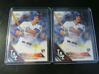 (2) 2016 TOPPS CHROME #150 COREY SEAGER RC LOT + (1) HERITAGE #168 RC