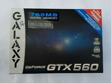 Nvidia Galaxy GEForce GTX560 768 MB GDDR5 graphics card, SE Edition