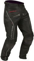 Buffalo Men's Phantom Pants Black Textile Motorcycle Trousers New