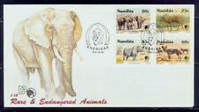 namibia/1993 protected rare animals s-fdc/mnh.good condition