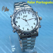 Portuguese Talking Watch Falar portugues for Blind People or Visually Impaired