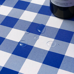 Buffalo Check Plaid Fabric Tablecloth Spill Proof Stain and Wrinkle Resistant