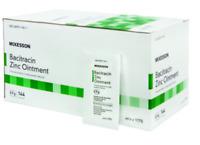 McK McKesson Bacitracin Zinc Ointment First Aid Antibiotic 0.9 Gm X 144 Per Box