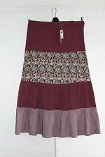New size 12 ANIMAL Skirt Pink Needle Cord Maxi Gypsy BNWT (43)