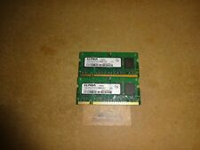 Elpida 2 GB (2 x 1 GB) PC2-5300S DDR 2 Memory / RAM For Laptop. (Ref: 8727)