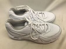 Reebok DMX Max Ride Walking Shoes White Sneaker Women's Size 11 Leather White
