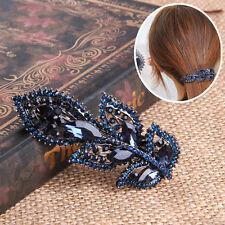Leaf Hair Clip For Women Luxuruous Hairpin Girls Hair Accessories Fashion