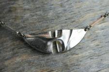 Vintage LAPPONIA Collier Halskette Björn Weckström Kette 70er 80er Silber 925