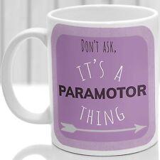 Paramotor thing mug, Ideal for any Paramotor lover (Pink)