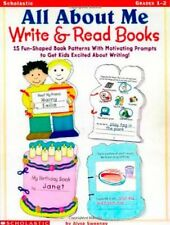 All About Me Write & Read Books: 15 Fun-Shaped Boo