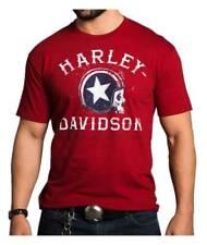 Harley-Davidson Mens Legend of the Speed Short Sleeve Crew Shirt 5504-HC13 (2XL)