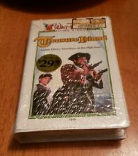 TREASURE ISLAND VHS WALT DISNEY VIDEO CLAMSHELL sealed