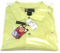 MEN'S JOSEPH A BANK XL LIME GREEN POLO GOLF SHIRT ~ David Leadbetter Collection