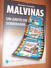 MALVINAS/FALKLAND, WAR in COMICS-176 PAGE.  TOUMBLEDOWN. SHEEFILD OUTERS BATLES
