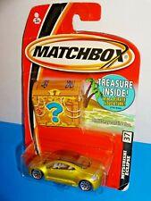 Matchbox 2005 Treasure Chest Package Release #37 Mitsubishi Eclipse Mtfk Yellow