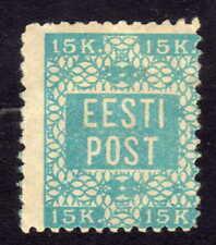 Estland Mi. 2A * Versuchszähnung L 11 1/2 Michel 450,00 - neustes Attest (2704)