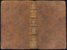 Voltaire 1775 La Henriade en dix chants Poème Henri IV Relié plein cuir