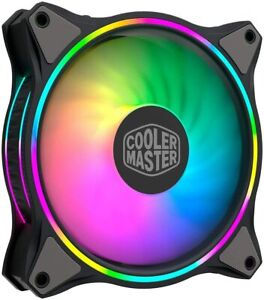 Cooler Master MasterFan MF120 HALO RGB 120mm Fan with Duo-Ring RGB