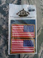 ARMY ACU Abzeichen Flagge 2 x Reversed auch für ABU OCP zum Aufnähen Neu OVP !