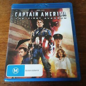Captain America the First Avenger Marvel Blu-Ray LIKE NEW! FREE POST