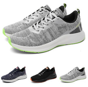 Mens Trainer Sports Outdoor Running Jogging Flats Casual Fashion Sneakers Shoes