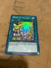 Yugioh Wind-Up Factory GENF-EN054 Super rare 1st edition Lightly played LP