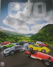 EVO magazine 10/2009 No.135 featuring TVR Cerbera, Lamborghini Balboni, AC, Audi