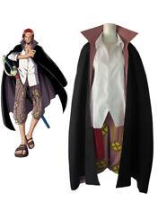 ONE PIECE Anime Shanks Uniform Coat Cosplay Costume Kostüme set Custom Neu