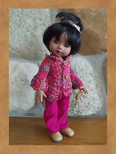 """Raspberry cords 10"""" Tonner Patsy handmade by Pink Heart Toggery"""