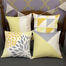 Set of 4 - 18x18 Pillow Covers Modern Throw Pillow Covers