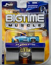 2005 Jada Toys - Dub City Bigtime Muscle - 1956 Ford F-100 1:64 Scale Die Cast