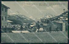 Belluno Pieve di Cadore Borgata Romita Monte Dubiea cartolina QT1183