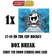 SINGLE * 17-18 * UD THE CUP HOCKEY Box Break #2551- Buffalo Sabres