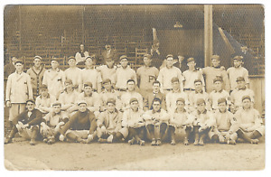 Baseball: 1911 Pittsburgh Pirates; Hot Springs, Ark Spring Training; 4 HOF; RPPC